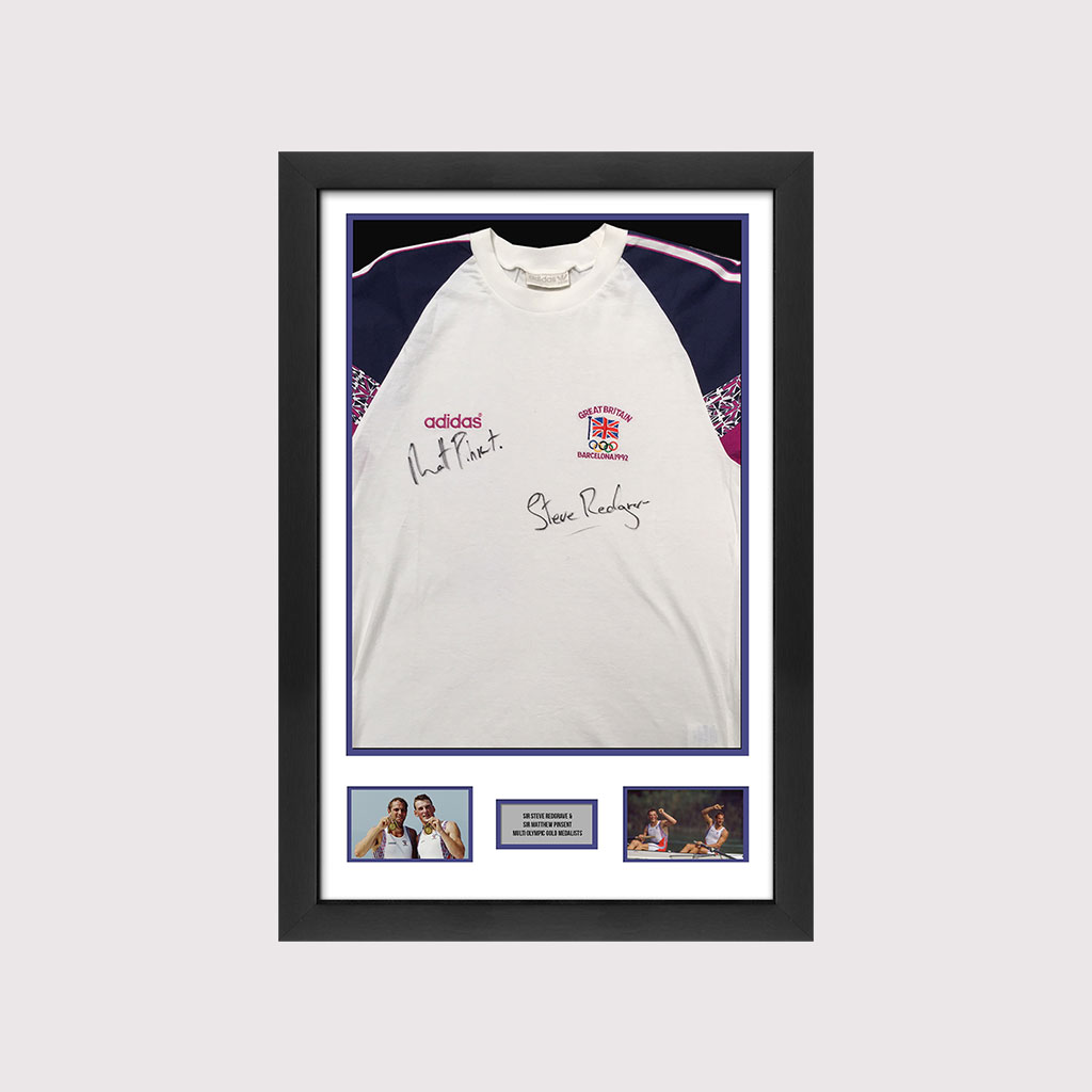 Redgrave & Pinsent Signed 92 Olympic Shirt