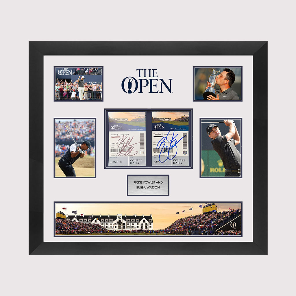 The Open Presentation with Fowler & Watson Signed Tickets