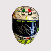 Valentino Rossi Signed Helmet With Case